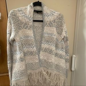 Romeo & Juliet Couture SZ SM waterfall cardigan